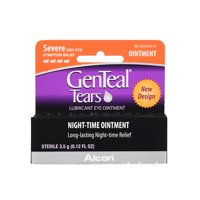 GENTEAL Tears Severe Nighttime Ointment for Severe Dry Eye Symptom Relief, 3.5g