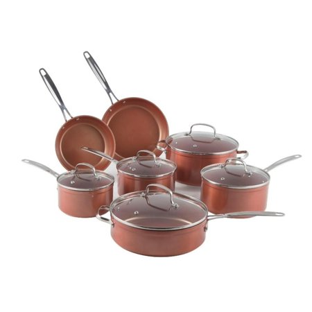 NuWave 31424 12-Piece Forged Aluminum Cookware Set