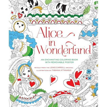 Alice In Wonderland Tutorial (Alice in Wonderland Coloring Book)