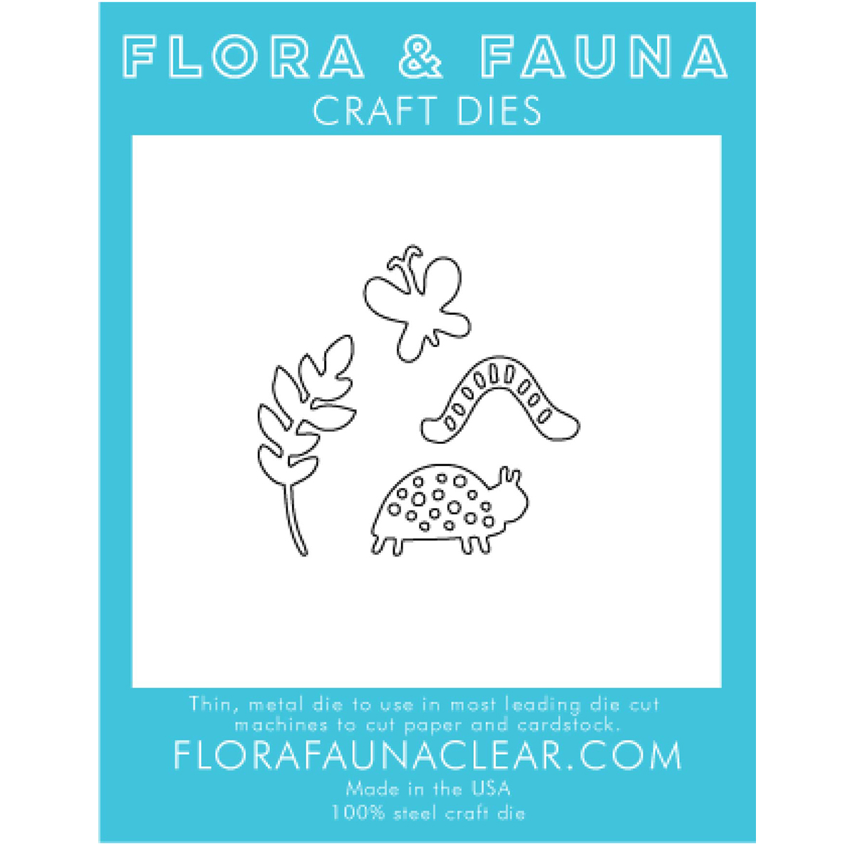 Flora & Fauna Dies-Woodland Creatures
