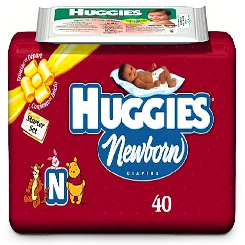 Huggies Newborn Diapers 40