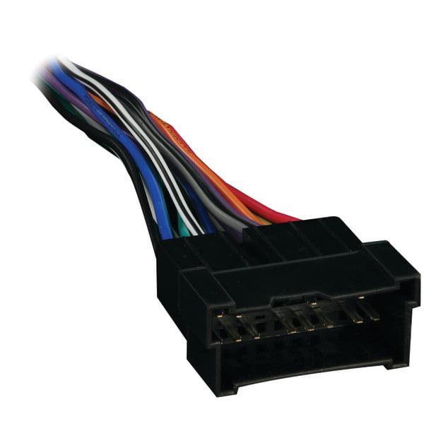 metra 70 7301 radio wiring harness for hyundai kia 99 08 multi colored walmart