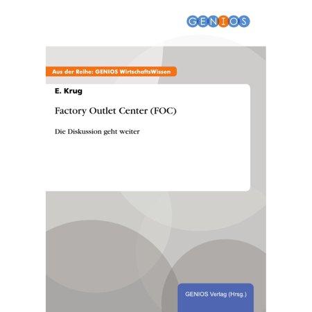 Factory Outlet Center (FOC) - eBook