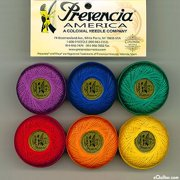 """Finca Perle Cotton Thread Sampler Pack, Size 5 (10 gram) - for sashiko, embroidery, and quilting - """"CRAYON"""" Collection, Perle Cotton Thread -.., By Presencia Ship from US"""
