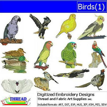- Threadart Machine Embroidery Designs Birds(1) CD