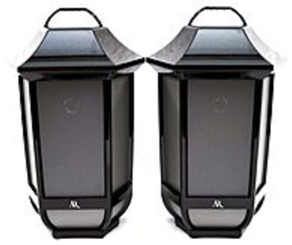 Refurbished Acoustic Research Premier Series AWSEE2BK2PKU Indoor Outdoor Wireless Speaker Hanging Lantern Design... by Acoustic Research