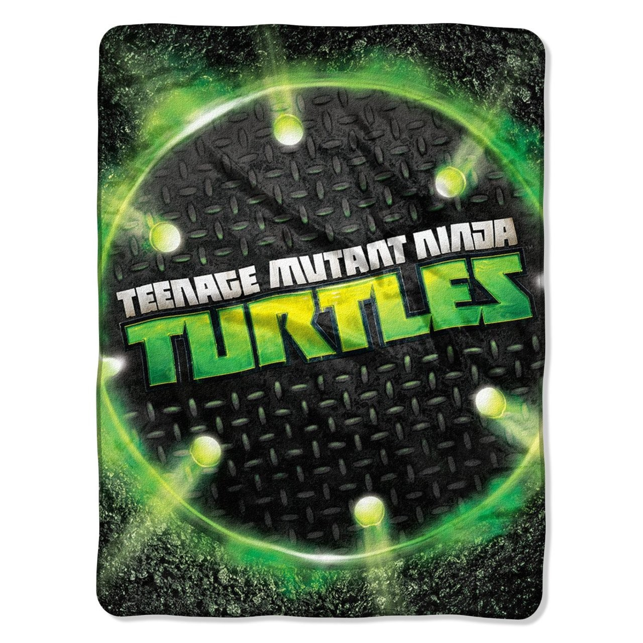 "Teenage Mutant Ninja Turtles Super Plush Fleece Throw - 46"" by 60"""