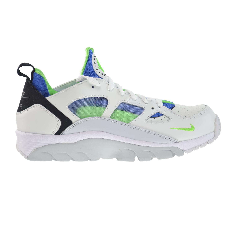 Nike Air Trainer Huarache Low Mens' Shoes White/Scream Gr...