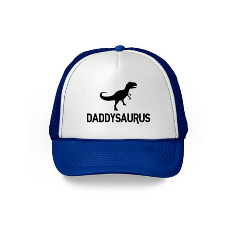 Awkward Styles Daddysaurus Hat Dinosaur Dad Trucker Hat Funny Dad Gifts for Father's Day Geek Dad Snapback Hat Hat Accessories for Dad Dinosaur Gifts for Dad Father Trucker Hat Daddy Cap Funny Dad Hat - Dinosaur Hat