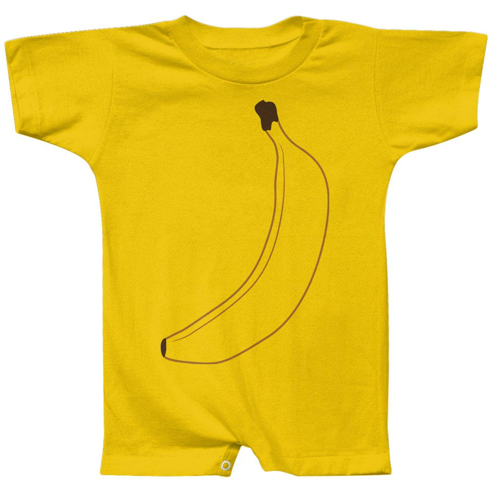Halloween Fruit Banana Costume Baby Romper