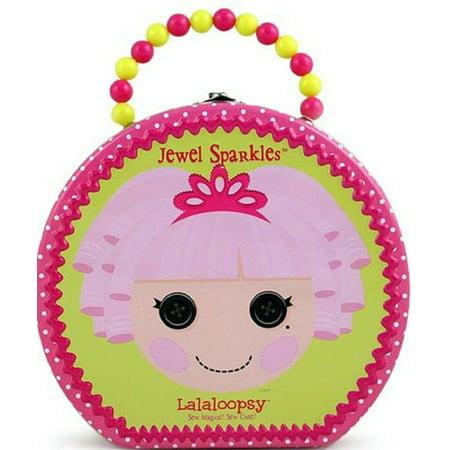 Jewel Lalaloopsy (Lalaloopsy Round Tin Carry All Hatbox - Jewel)
