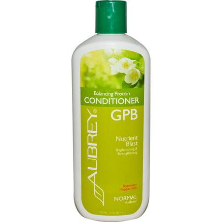 Aubrey Organics  GPB Balancing Protein Conditioner  Rosemary Peppermint  Normal  11 fl oz  325 ml