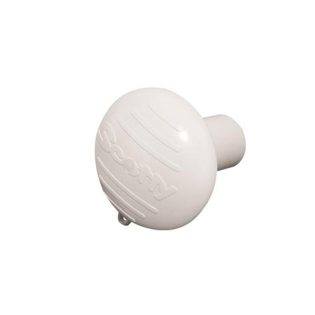 0425-WH Hammerhead with Rod Butt Cushion - White - image 1 de 1