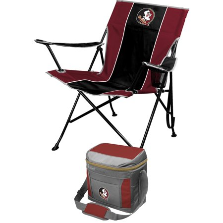 - Florida State Seminoles Tailgate Chair & Coleman 16-Can Cooler Combo Set - Black - No Size