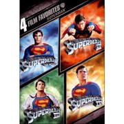 Superman: 4 Film Favorites by TIME WARNER