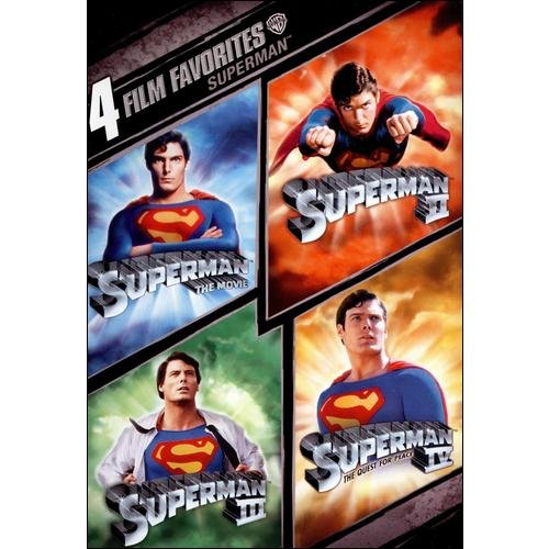 Superman: 4 Film Favorites