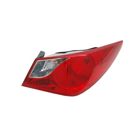 TYC 11-6347-00-1 Right Outer Tail Light Lamp for 11-14 Hyundai Sonata HY2805116