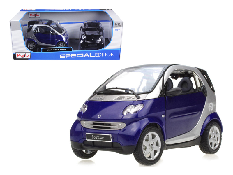 Smart For Two Coupe 1 18 Diecast Model Car by Maisto by Diecast Dropshipper
