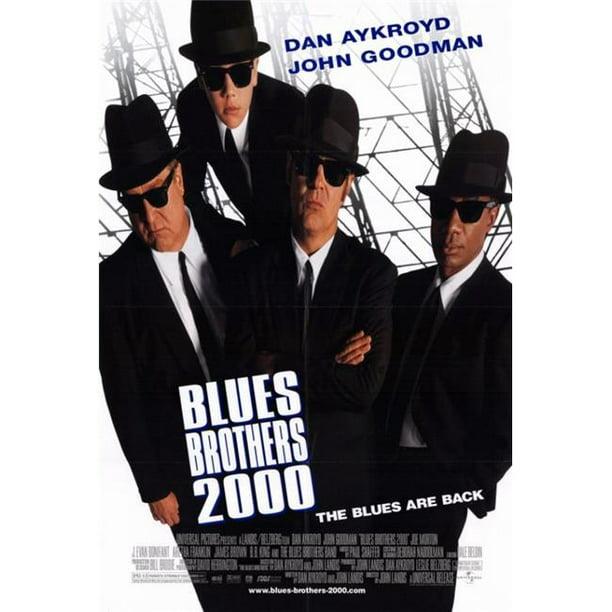 Posterazzi Movcf6411 Blues Brothers 2000 Movie Poster 27 X 40 In Walmart Com Walmart Com
