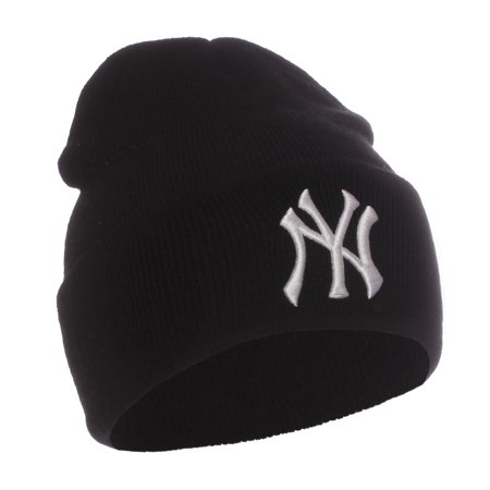 MLB Authentic and Licensed Unisex Adult Winter Knit Hat Beanie Teams - (Sf Giants Beanie With Pom New Era)