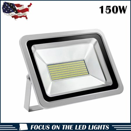 100w 150w 200w Led Flood Light Spotlights Outdoor Spotlight Garden Yard Lamp