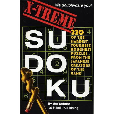 X-Treme Sudoku - Paperback