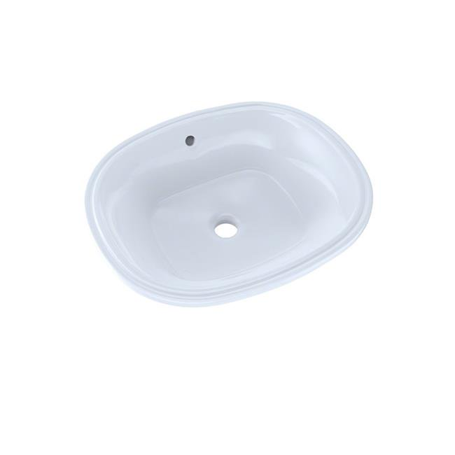 Toto Lt483g No 01 17 62 X 14 56 In Maris Oval Undermount Bathroom Sink With Cefiontect 44 Cotton White Walmart Canada