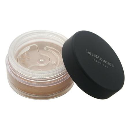 Original Foundation SPF 15 - Golden Tan (W30) by bareMinerals for Women - 0.28 oz - Gold Spf 15 Foundation