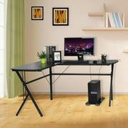 home office desk corner. Corner Computer Desk, L-Shaped Desk For Home Office Large Workstation Notebook PC U