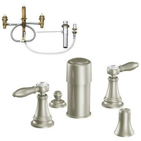 Moen Kbwe D Ts42105orb Weymouth Two Handle Bidet Faucet
