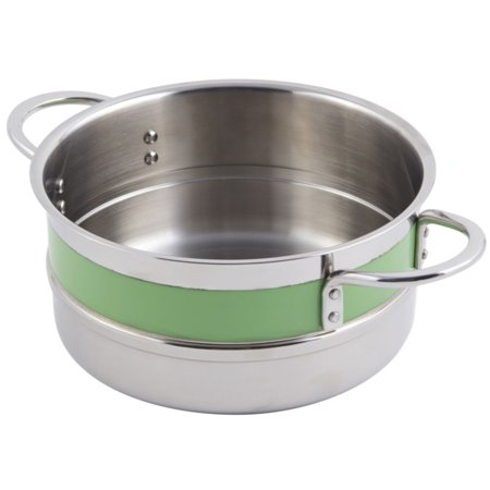 Bon Chef 62302NC LIME 4.3 Qt. Single Wall Pot with Handles