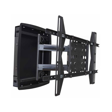 Monoprice Recessed Full-Motion Articulating TV Wall Mount Bracket For TVs 42in to 63in | Max Weight 200lbs, VESA Patterns Up to 800x500