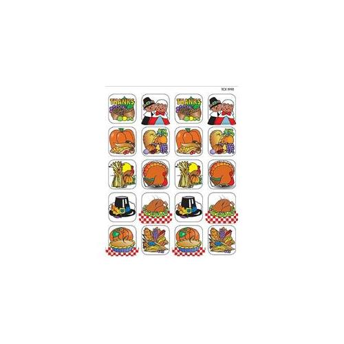Teacher Created Resources 1998 Thanksgiving 2 Stickers