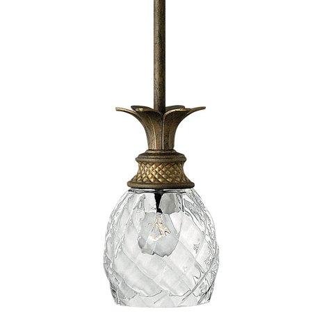 Hinkley Lighting H5317 Plantation 1 Light Indoor Mini Pendant Pearl Ceiling Lighting