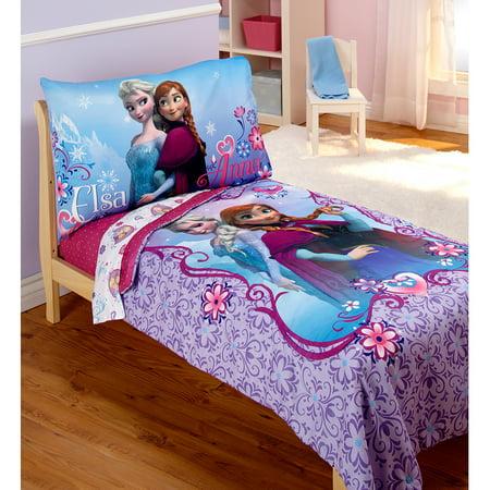 Disney Frozen 4 Piece Bedding With 15 Off 2 Piece Blanket
