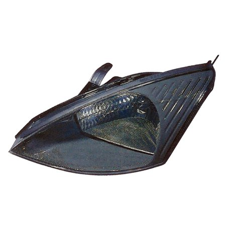 - 2003-2004 Ford Focus w/o SVT Driver Left Side Headlight Lamp Assembly