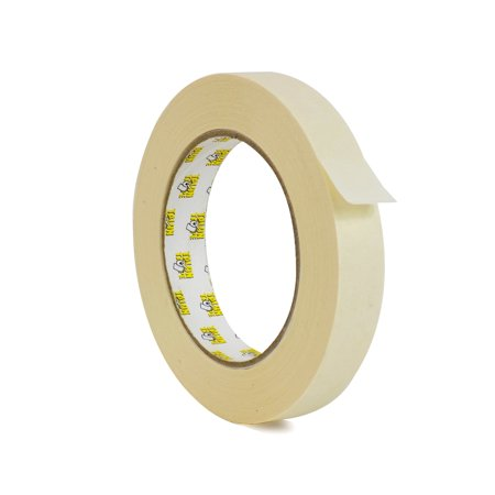 General Purpose Roll - WOD GPM-63 Masking Tape 1/2 inch for General Purpose / Painting - 1 Roll - 60 yards per roll