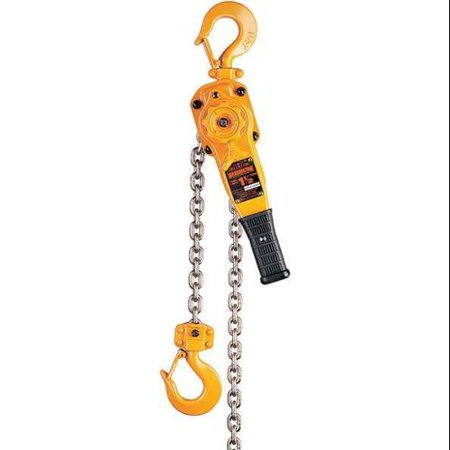 HARRINGTON LB015-20 Lever Chain Hoist, 3000 lb. Load Capacity, 20 ft. Hoist Lift