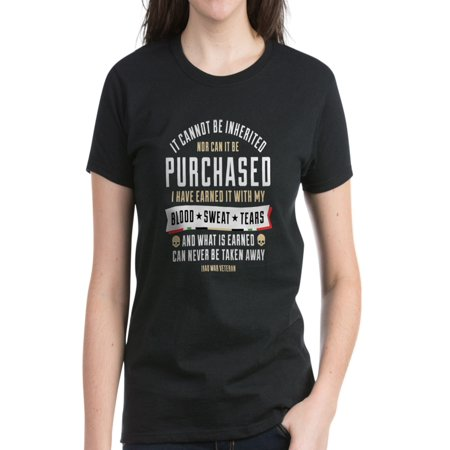CafePress - Iraq War Veteran - Women's Dark T-Shirt