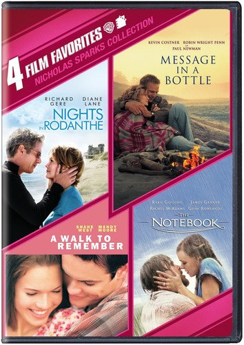 4 Film Favorites: Nicholas Sparks Collection by WARNER HOME ENTERTAINMENT