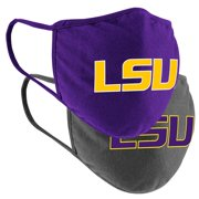 LSU Tigers Colosseum Adult Logo Face Covering 2-Pack