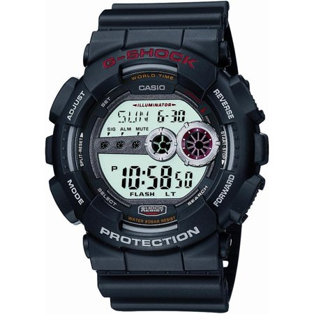 Casio Men's GD100-1A Grey Resin Quartz Fashion Watch