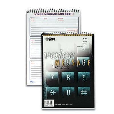 TOPS Message Log Book TOP44169
