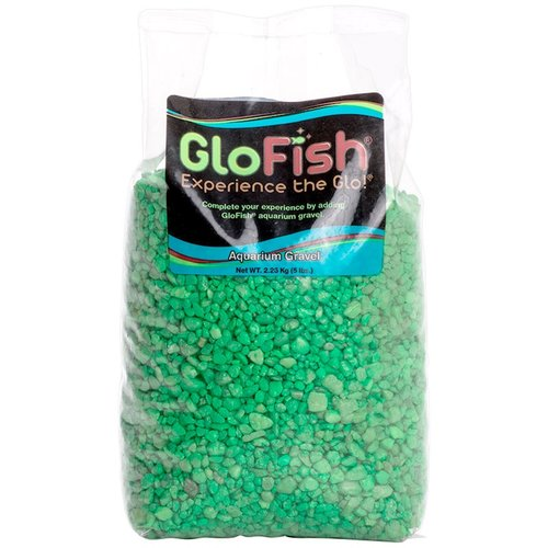 GloFish Aquarium Gravel - Green 5 lbs