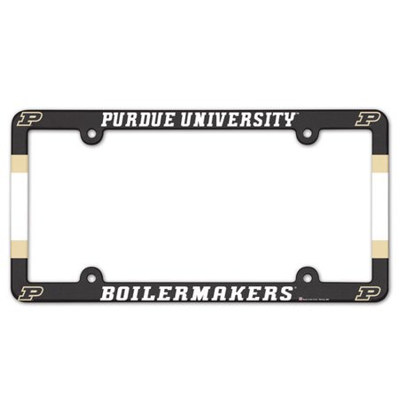 - Purdue Boilermakers Plastic Full Color License Plate Frame