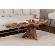 Decorative Jasper Rustic Tan Specialty Coffee Table