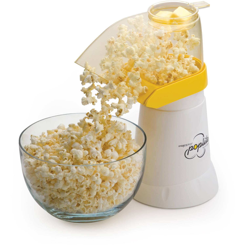 Presto PopLite Hot Air Popcorn Popper, 04820