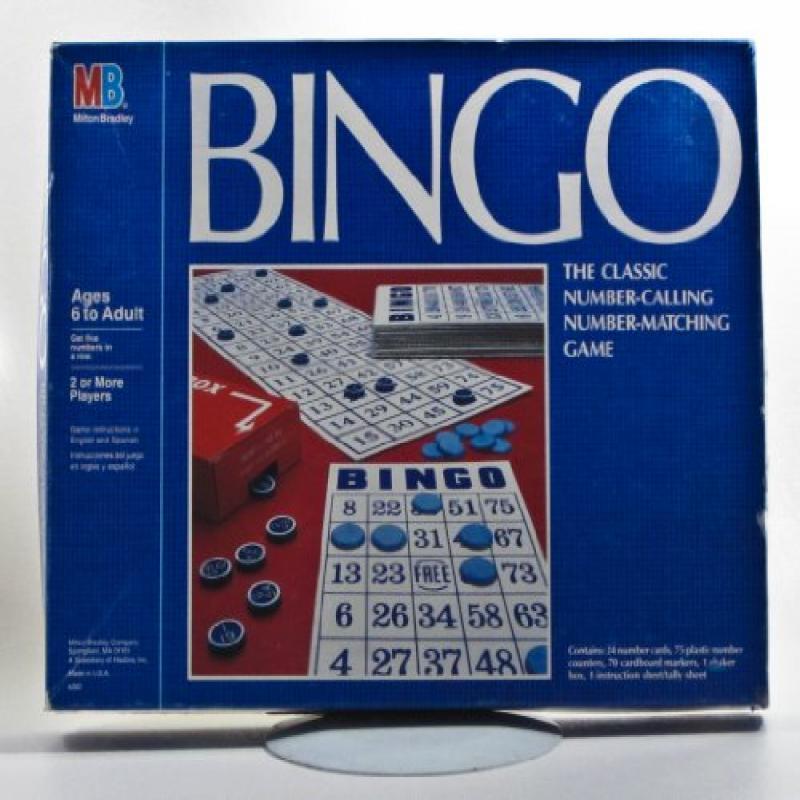 Milton Bradley Bingo Game by
