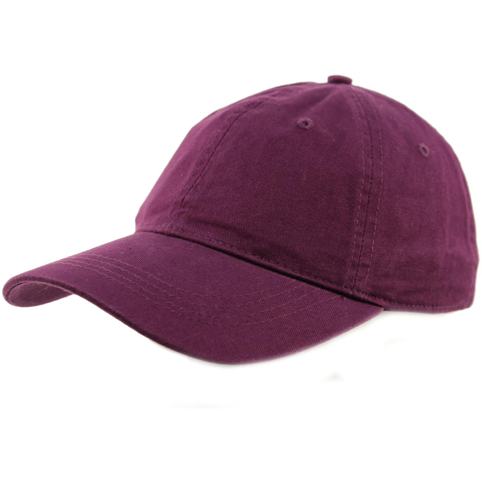 One Size Fits Most Adjustable Blank 6 Panel Low Profile Cotton Canvas Mesh Back Baseball Cap//Trucker Hat