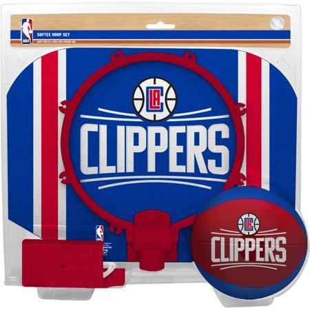Rawlings NBA Slam Dunk Softee Hoop Set Los Angeles Clippers by